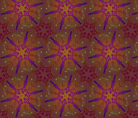 woman_on_fire18 fabric by glimmericks on Spoonflower - custom fabric