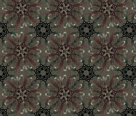 woman_on_fire22 fabric by glimmericks on Spoonflower - custom fabric