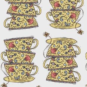 Teacups :: Ochre