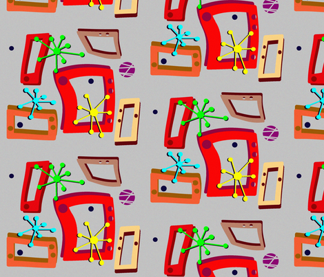 ShadesN fabric by retroretro on Spoonflower - custom fabric