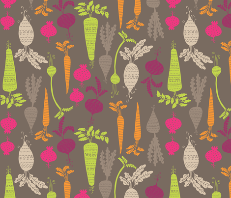 rootin tootin veg fabric by bethan_janine on Spoonflower - custom fabric