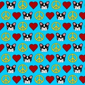Peace, Love & French Bulldogs!