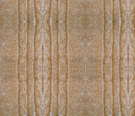 Cable Knit fabric by nascustomlife on Spoonflower - custom fabric