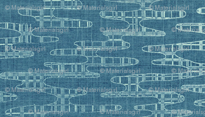 Reflecting Pools - Blue