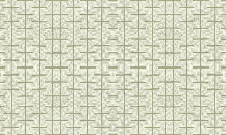 Yarrow Stix and Diamonds - light khaki gray-greens fabric by materialsgirl on Spoonflower - custom fabric