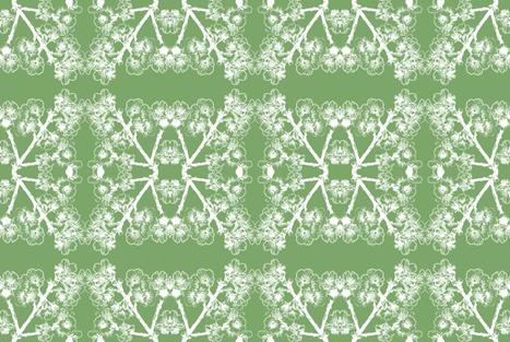 Cherry Blossom #3 fabric by fridabarlow on Spoonflower - custom fabric