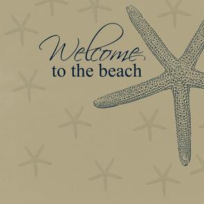 Welcome to the Beach Starfish