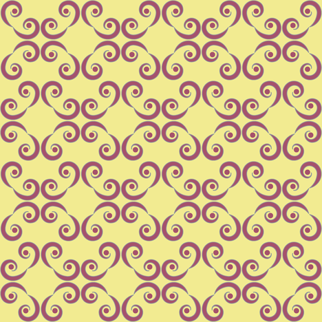Dotted Swirls in Purple or Violet fabric by fridabarlow on Spoonflower - custom fabric