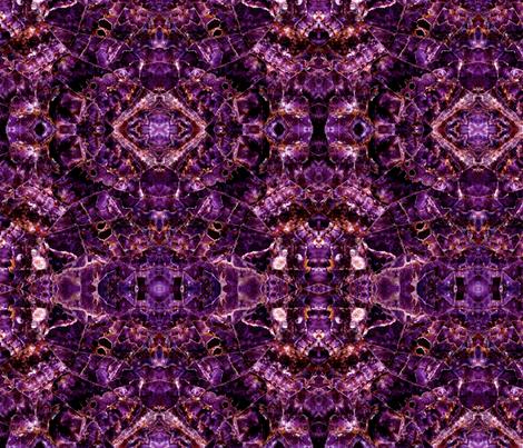 Gemstone fuschia fabric by nascustomlife on Spoonflower - custom fabric