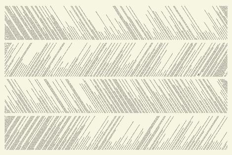 3 Musketeers print arranged in chevron for scarf fabric by racheljones on Spoonflower - custom fabric