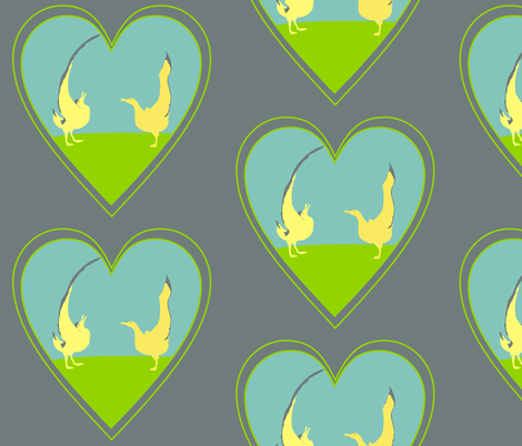Albatross Love fabric by smuk on Spoonflower - custom fabric