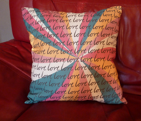 Love Love Love Cushion Kit