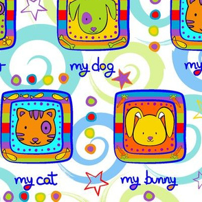 My stuffed animals.