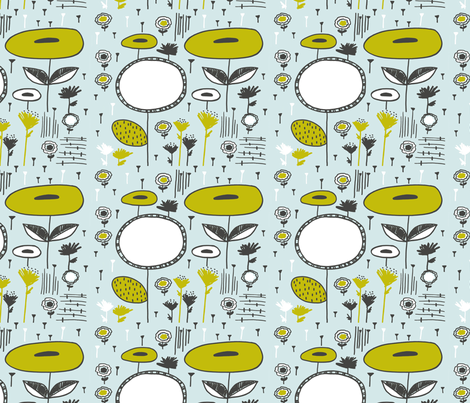 daydream doodle 9 fabric by siribean on Spoonflower - custom fabric