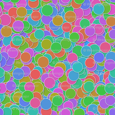 neon polkadiddles