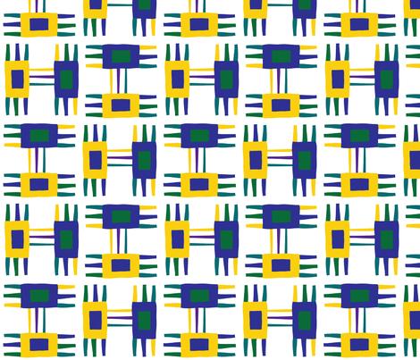 Tic-tac fabric by deborahjackel on Spoonflower - custom fabric