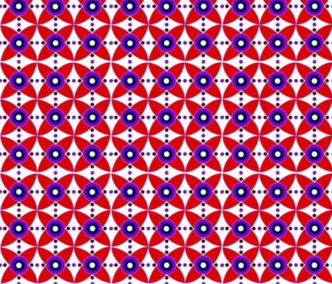 Cartwheel fabric by deborahjackel on Spoonflower - custom fabric