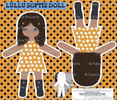 LULU softie doll