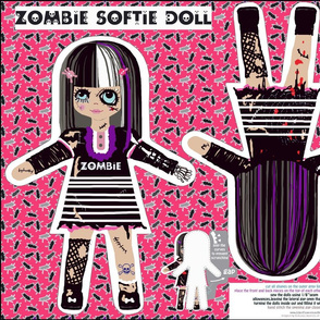 zombie doll new version