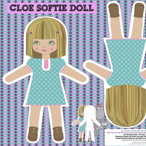 CLOE softie doll