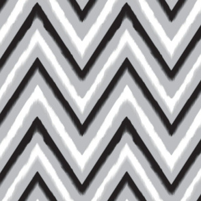 Black & Grey Chevron 2