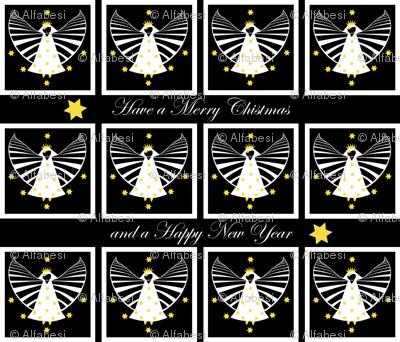 Christmas napkins for angels