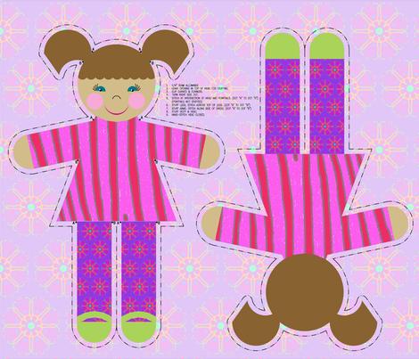 hello_dolly3 fabric by mammajamma on Spoonflower - custom fabric