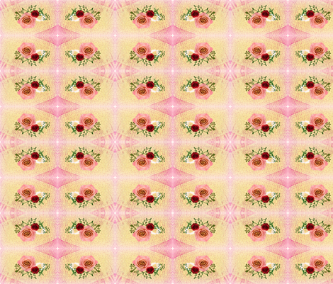 Sweet Rose fabric by bettieblue_designs on Spoonflower - custom fabric