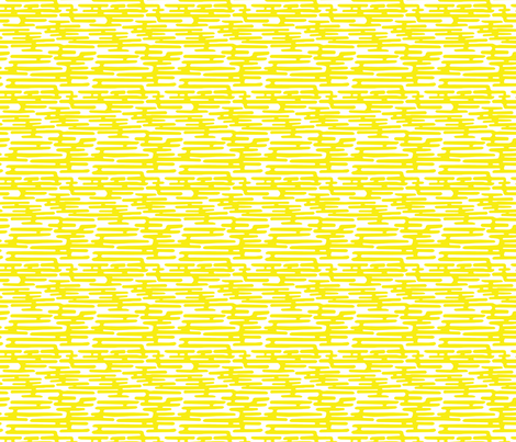 Krom - Yellow fabric by feliciadavidsson on Spoonflower - custom fabric