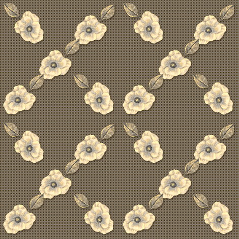 Antique Romance: Lattice Coordinate fabric by tallulahdahling on Spoonflower - custom fabric