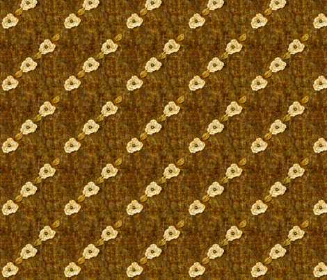 AntiqueRomance: Batik Brown - diagonal fabric by tallulahdahling on Spoonflower - custom fabric