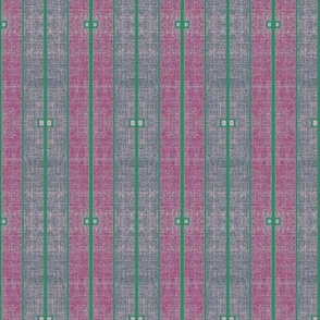 Ode to Deco - stonewashed plum, magenta and green stripe