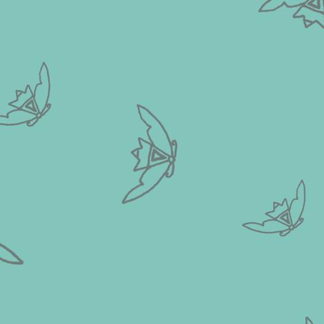 Hopi Moth fabric by keweenawchris on Spoonflower - custom fabric