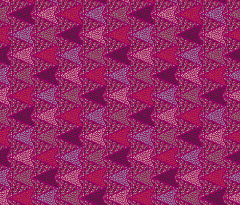 COLOURFUL_ARROWS_pink fabric by ginger&cardamôme on Spoonflower - custom fabric