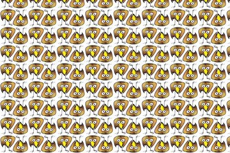 Birdie 2-block fabric by whimsikate on Spoonflower - custom fabric