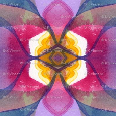 Sun Swirl, cropped, block 2