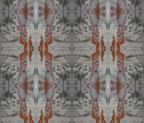 Faded Glory of Pompeii - dull fabric by susaninparis on Spoonflower - custom fabric
