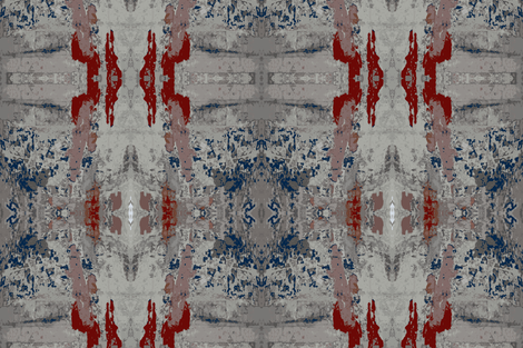 Faded Glory of Pompeii - large fabric by susaninparis on Spoonflower - custom fabric