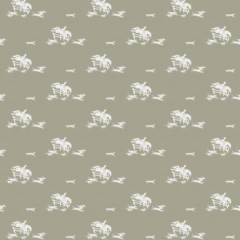 Full Cry Greige fabric by ragan on Spoonflower - custom fabric