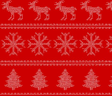 Christmas Print II fabric by european-skies on Spoonflower - custom fabric