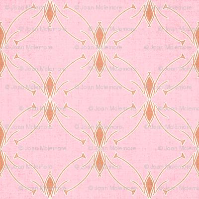 Mod floral pink coordinate