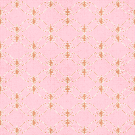 Mod floral pink coordinate  fabric by joanmclemore on Spoonflower - custom fabric