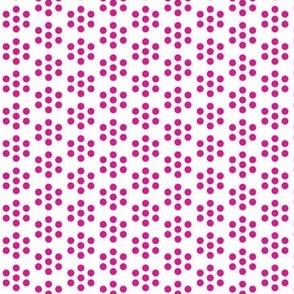 Cluster Dots Fuchsia
