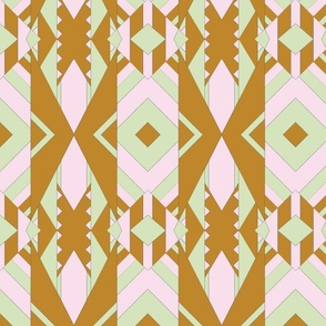 Geometric Lines Color Mirored