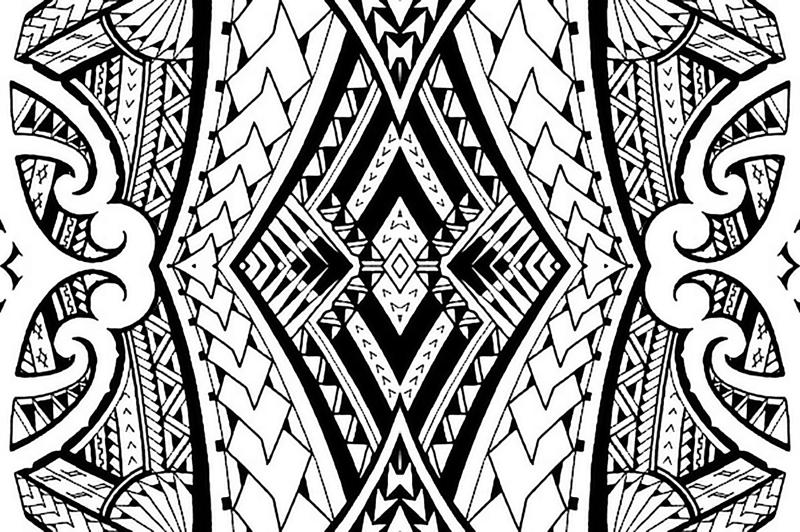 hawaiian tribal patterns wallpaper wwwpixsharkcom