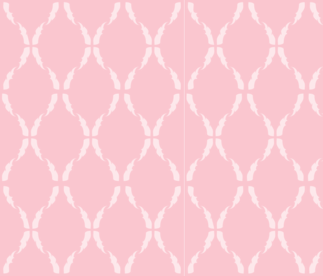 Modern Baroque Pink fabric by gabrielle&grete on Spoonflower - custom fabric