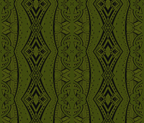 Maori Jungle fabric by flyingfish on Spoonflower - custom fabric