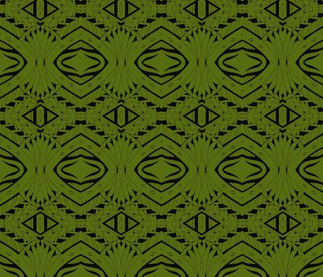 Tiki Tribal Jungle fabric by flyingfish on Spoonflower - custom fabric