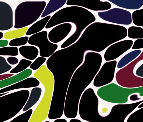 Bold Abstracts 1 fabric by animotaxis on Spoonflower - custom fabric