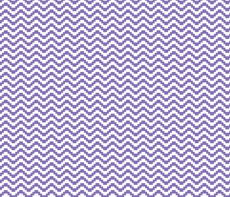 Brick Zigzag - Lavender fabric by little_fish on Spoonflower - custom fabric